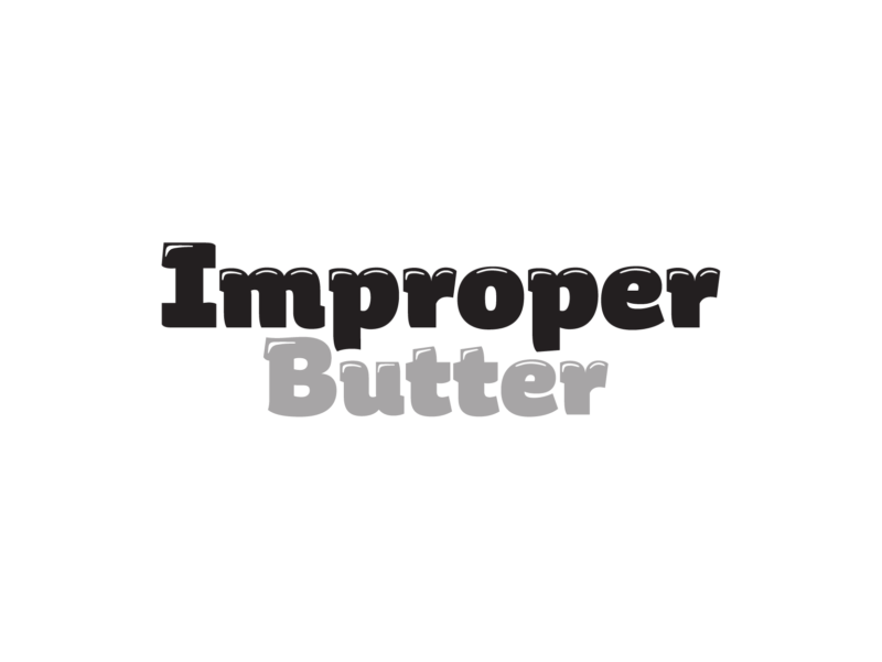 Logo Improper Butter